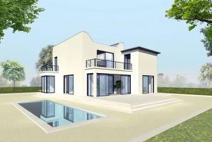 Bild: Haus Expression Bauweise: Fertighaus, industrielle Vorfertigung Bauart: Holzhaus, Fachwerk