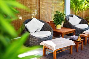 Sonnenschutzideen für die Terrasse