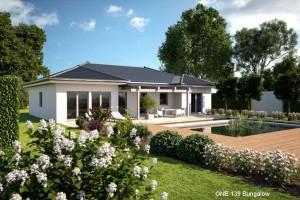 Bild: ONE 139 Bauweise: Fertighaus, industrielle Vorfertigung Bauart: Holzhaus, Fachwerk