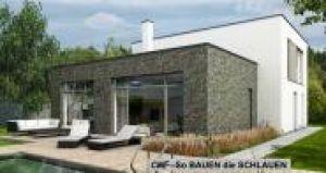 Bild: DAKOTA 4 plus Bauweise: Fertighaus, industrielle Vorfertigung Bauart: Massivhaus, Porenbetonsteine