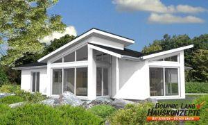 Bild: Exklusiv Bauweise: Fertighaus, industrielle Vorfertigung Bauart: Holzhaus, Holztafelbau