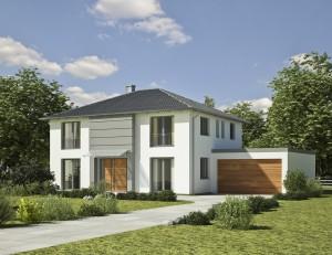 Bild: Villa D2 Bauweise: Bau vor Ort, traditioneller Hausbau Bauart: Massivhaus, Porenbetonsteine