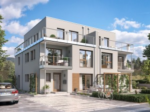 Bild: CELEBRATION 139 V7 XL Bauweise: Fertighaus, industrielle Vorfertigung Bauart: Holzhaus, Holztafelbau