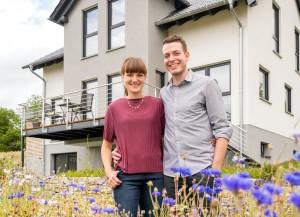 Optische Raffinesse mit Vergrößerung des Wohnraums vereint