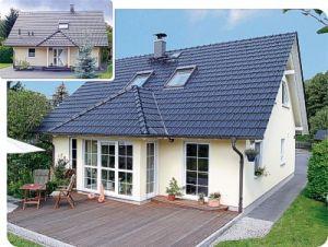 Bild: Edition 500 Bauweise: Fertighaus, industrielle Vorfertigung Bauart: Holzhaus, Fachwerk