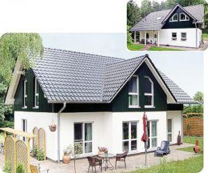 Bild: Maxx 3/3XL Bauweise: Fertighaus, industrielle Vorfertigung Bauart: Holzhaus, Fachwerk