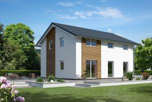 Bild: Ratio 3/25 Bauweise: Fertighaus, industrielle Vorfertigung Bauart: Holzhaus, Fachwerk