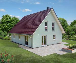 Bild: Ratio 3/42 Bauweise: Fertighaus, industrielle Vorfertigung Bauart: Holzhaus, Fachwerk
