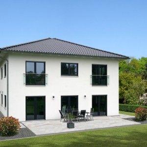 Bild: Stadtvilla S3 Bauweise: Fertighaus, industrielle Vorfertigung Bauart: Holzhaus, Fachwerk