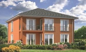 Bild: MFH/ Generationenhaus (ohne Keller) Bauweise: Bau vor Ort, traditioneller Hausbau Bauart: Massivhaus, Porenbetonsteine