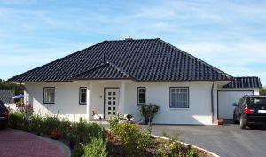 Bild: Bungalow 80 Bauweise: Bau vor Ort, traditioneller Hausbau Bauart: Massivhaus, Ziegelsteine