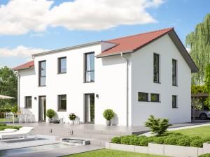 Bild: CELEBRATION 207 V5 Bauweise: Fertighaus, industrielle Vorfertigung Bauart: Holzhaus, Holztafelbau