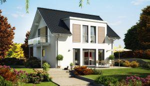 Bild: EVOLUTION 124 V3 Bauweise: Fertighaus, industrielle Vorfertigung Bauart: Holzhaus, Holztafelbau