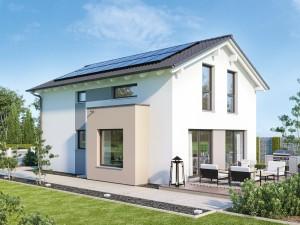 Bild: EDITION 120 V4 Bauweise: Fertighaus, industrielle Vorfertigung Bauart: Holzhaus, Holztafelbau