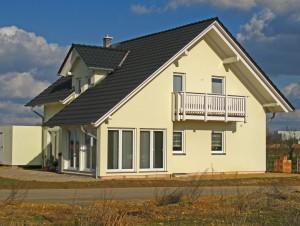 Bild:  ADOS 500 Bauweise: Bau vor Ort, traditioneller Hausbau Bauart: Massivhaus, Porenbetonsteine