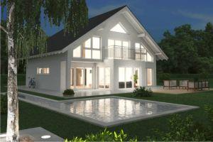 Bild: Noblesse 190  Bauart: Massivhaus