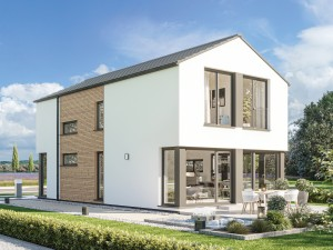 Bild: BALANCE 120 V2 Bauweise: Fertighaus, industrielle Vorfertigung Bauart: Holzhaus, Holztafelbau