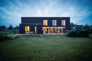 Architektenhaus im Bauhausstil von WeberHaus