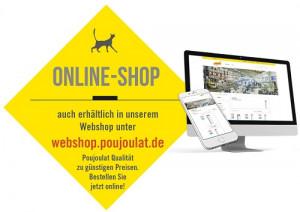 Im Webshop von Poujoulat entscheidet der User über 20% oder 60% Preisnachlaß.