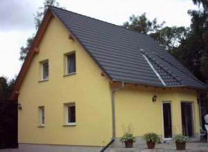 Bild: Haus Bohnsdorf Bauweise: Bau vor Ort, traditioneller Hausbau Bauart: Massivhaus, Porenbetonsteine