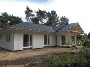 Bild: Nordfjord Bauweise: Fertighaus, industrielle Vorfertigung Bauart: Holzhaus, Fachwerk