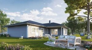 Bild: Magnus Bauweise: Bau vor Ort, traditioneller Hausbau Bauart: Holzhaus, Holzständerwerk