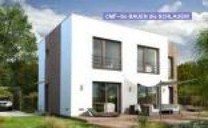 Bild: GS PASSIV 23--163 Bauweise: Fertighaus, industrielle Vorfertigung Bauart: Massivhaus, Porenbetonsteine