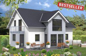 Bild: Bestseller Bauweise: Fertighaus, industrielle Vorfertigung Bauart: Holzhaus, Holztafelbau