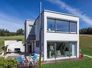 Bild: Kundenhaus Bettenhausen  Bauart: Holzhaus, Fachwerk