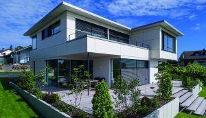 Bild: Kundenhaus Schillerhöhe  Bauart: Holzhaus