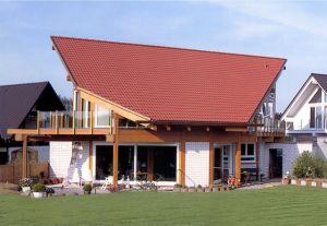 Bild: KD 08  Bauart: Holzhaus, Blockhaus