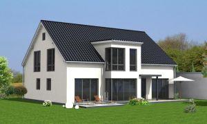 Bild: Kowalski Haus - CELINE 285 (mit  Einliegerwohnung) Bauweise:  Bauart: Holzhaus, Fachwerk