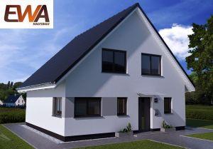 Bild: EWA Landhaus Uckermark Bauweise: Bau vor Ort, traditioneller Hausbau Bauart: Massivhaus, Ziegelsteine
