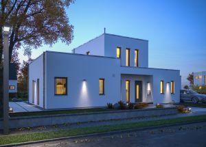 Bild: LifeStyle 19.04 F Bauweise: Fertighaus, industrielle Vorfertigung Bauart: Holzhaus, Holzständerwerk