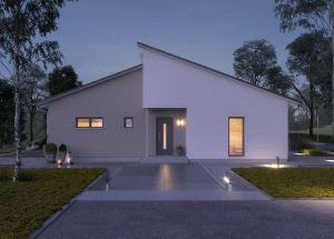 Bild: ComfortStyle 14.01 P Bauweise: Fertighaus, industrielle Vorfertigung Bauart: Holzhaus, Holzständerwerk