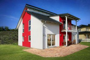 Bild: Pultdach Modern 174 Bauweise: Fertighaus, industrielle Vorfertigung Bauart: Holzhaus, Fachwerk