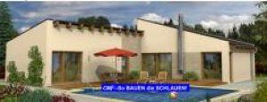 Bild: Monaco 104 Bauweise: Fertighaus, industrielle Vorfertigung Bauart: Massivhaus, Ziegelsteine
