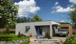 Bild: NEO 75 Bauweise: Fertighaus, industrielle Vorfertigung Bauart: Massivhaus, Ziegelsteine
