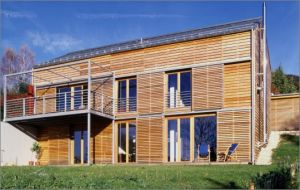 Bild: Trautmann Bauweise: Fertighaus, industrielle Vorfertigung Bauart: Massivhaus, Porenbetonsteine