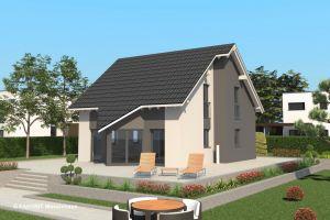 Bild: Select 120  Bauart: Massivhaus, Porenbetonsteine