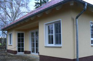 Bild: Atrium Bauweise: Bau vor Ort, traditioneller Hausbau Bauart: Massivhaus, Ziegelsteine