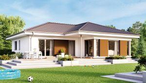 Bild: SOLUTION 100 V2 Bauweise: Fertighaus, industrielle Vorfertigung Bauart: Holzhaus, Holztafelbau