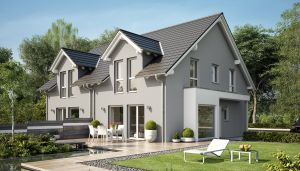 Bild: SOLUTION 126 L V2 Bauweise: Fertighaus, industrielle Vorfertigung Bauart: Holzhaus, Holztafelbau