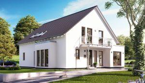 Bild: SOLUTION 230 V3 Bauweise: Fertighaus, industrielle Vorfertigung Bauart: Holzhaus, Holztafelbau