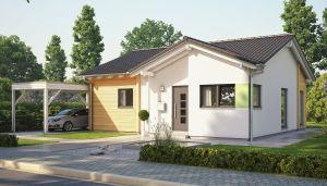 Bild: SOLUTION 78 V3 Bauweise: Fertighaus, industrielle Vorfertigung Bauart: Holzhaus, Holztafelbau