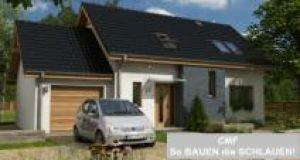 Bild: CEF 132 START plus Bauweise: Fertighaus, industrielle Vorfertigung Bauart: Massivhaus, Ziegelsteine