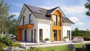 Bild: SUNSHINE 125 V3 Bauweise: Fertighaus, industrielle Vorfertigung Bauart: Holzhaus, Holztafelbau