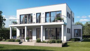 Bild: SUNSHINE 165 V7 Bauweise: Fertighaus, industrielle Vorfertigung Bauart: Holzhaus, Holztafelbau