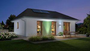 Bild: Der Bungalow 78 Bauweise: Bau vor Ort, traditioneller Hausbau Bauart: Massivhaus, Ziegelsteine