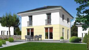 Bild: Das Stadthaus Flair 124 Bauweise: Bau vor Ort, traditioneller Hausbau Bauart: Massivhaus, Ziegelsteine